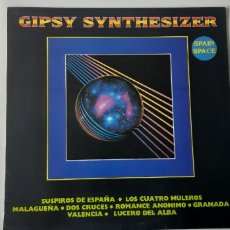 Discos de vinilo: GIPSY SYNTHESIZER. SPAIN SPACE.. Lote 184820626