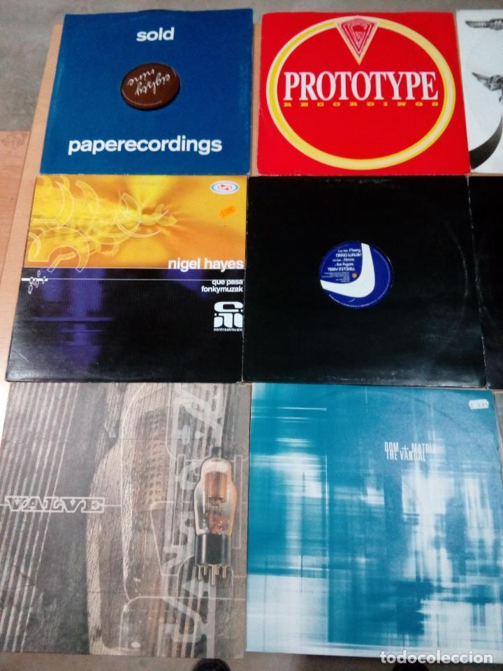 LOTE 12 VINILOS MUSICA ELECTRONICA DJ MODERNA AÑOS 90 - 2000 - VER FOTOS - BUEN ESTADO (Música - Discos de Vinilo - EPs - Techno, Trance y House)