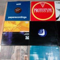 Discos de vinilo: LOTE 12 VINILOS MUSICA ELECTRONICA DJ MODERNA AÑOS 90 - 2000 - VER FOTOS - BUEN ESTADO . Lote 184824835