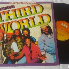 Discos de vinilo: THIRD WORLD MAXI TRY JAH LOVE. Lote 184832322
