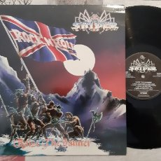 Discos de vinilo: SPIDER. RAISE THE BANNER. UK. 1986. RRT. HARD-ROCK.. Lote 184840932