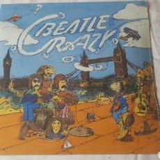 Discos de vinilo: BEATLES BEATLE CRAZY LP. Lote 184843636