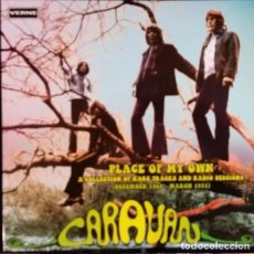 Discos de vinilo: CARAVAN – PLACE OF MY OWN - A COLLECTION OF RARE TRACKS AND RADIO SESSIONS 2 LPS. Lote 184845106