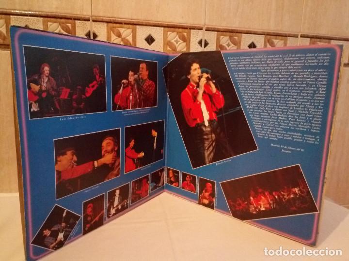 Discos de vinilo: 51-LP DOBLE JOAQUIN SABINA Y VICEVERSA en directo 1986 - Foto 3 - 184846856