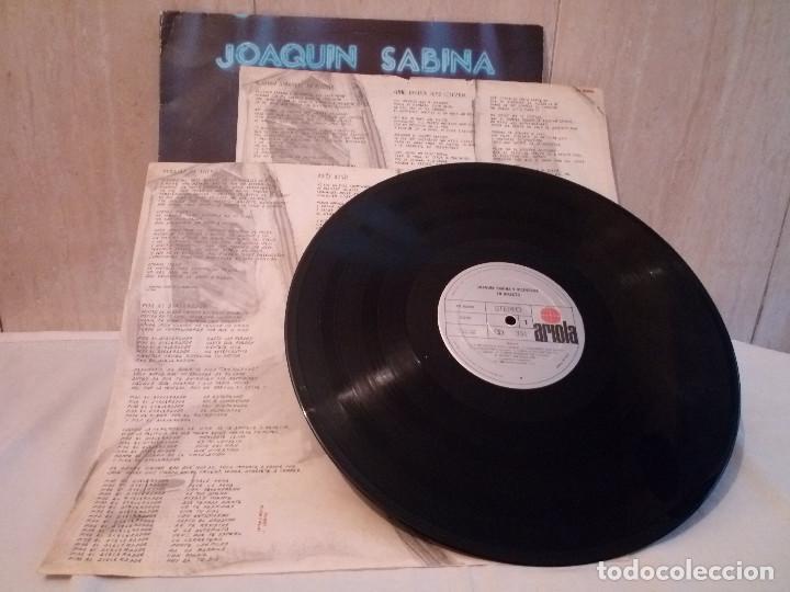 Discos de vinilo: 51-LP DOBLE JOAQUIN SABINA Y VICEVERSA en directo 1986 - Foto 4 - 184846856