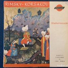 Discos de vinilo: RIMSKY-KORSAKOV* - BAMBERGER SYMPHONIKER, JONEL PERLEA – SHEHERAZADE SELLO: MINIVOX – MV 207 . Lote 184853962