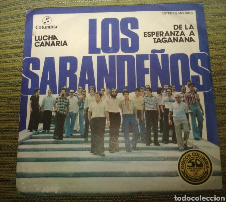 LOS SABANDEÑOS - LUCHA CANARIA (Música - Discos - Singles Vinilo - Grupos Españoles de los 70 y 80)
