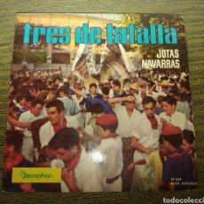 Discos de vinilo: TRES DE TAFALLA - JOTAS NAVARRAS. Lote 184854936
