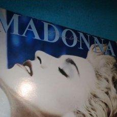 Discos de vinilo: LP - MADONNA - TRUE BLUE - 1986 - INCLUYE FUNDA INTERIOR CON LETRAS. Lote 184857001