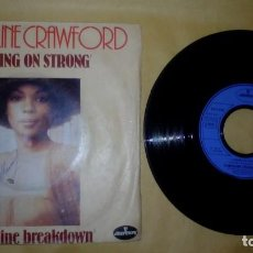 Discos de vinilo: CAROLINE CRAWFORD ‎– COMING ON STRONG . Lote 184867215
