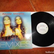 Discos de vinilo: AZUCAR MORENO THE SUMMER´99 OLE PABLO FLORES REMIXES MAXI SINGLE VINILO 1999 CONTIENE 6 TEMAS ASAP. Lote 184872442