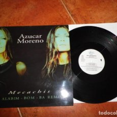 Discos de vinilo: AZUCAR MORENO THE ALABIM-BOM-BA REMIXES MAXI SINGLE VINILO 1998 CONTIENE 5 TEMAS ASAP MUY RARO. Lote 184873283