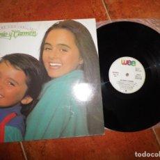 Discos de vinilo: ANTONIO Y CARMEN ENTRE COCODRILOS LP VINILO DEL AÑO 1983 ESPAÑA ROCIO DURCAL CONTIENE 11 TEMAS. Lote 184884220
