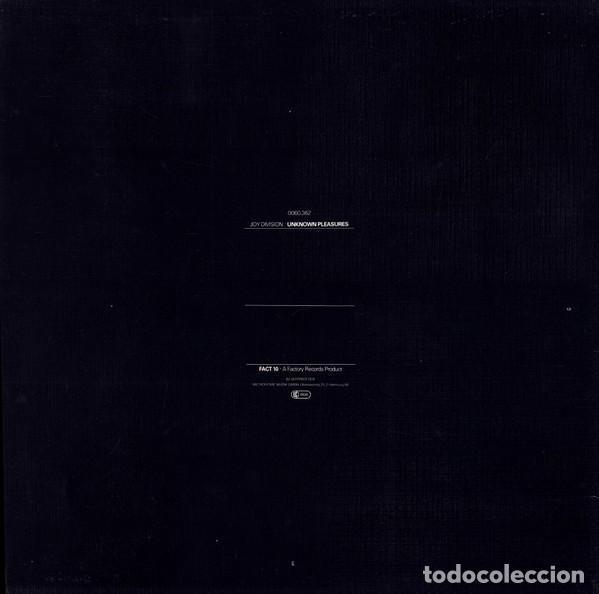 Discos de vinilo: Joy Division – Unknown Pleasures lp - Foto 2 - 184891907