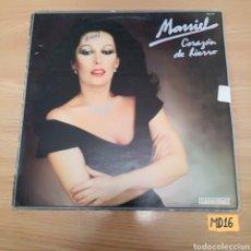 Discos de vinilo: MASSIEL CORAZÓN DE HIERRO. Lote 184896491