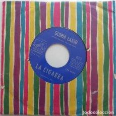 Disques de vinyle: LA CIGARRA - GLORIA LASSO ACOMP. PAUL FERSEN ET SON ORCHESTRE. Lote 234513910