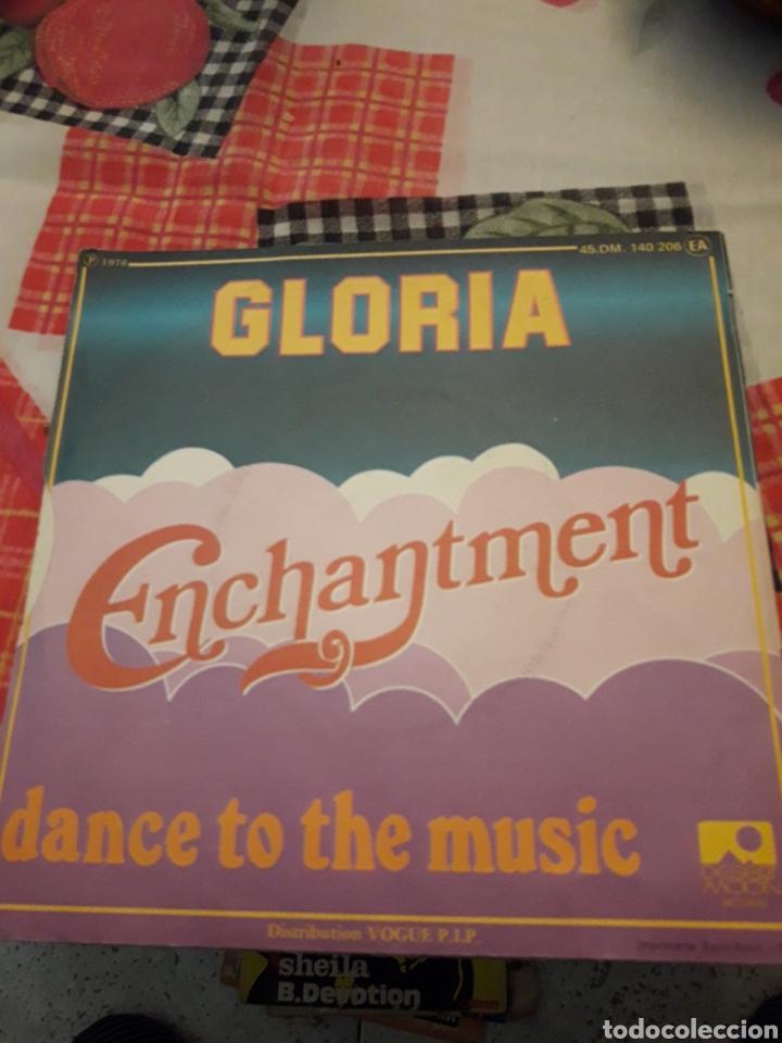 Discos de vinilo: Enchantment. Gloria. Edicion Desert moon. Francia. Megararo. Para coleccionistas - Foto 2 - 184903293