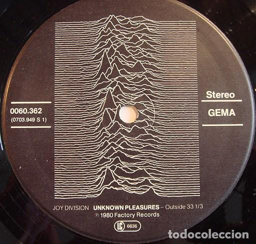 Discos de vinilo: Joy Division ‎– Unknown Pleasures- LP- - Foto 4 - 184895858