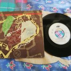 Discos de vinilo: RADIO FUTURA CONDENA DEL AMOR / IMAGEN PUBLICA SINGLE VINILO GATEFOLD 1990 SANTIAGO AUSERON 2 TEMAS. Lote 184914152