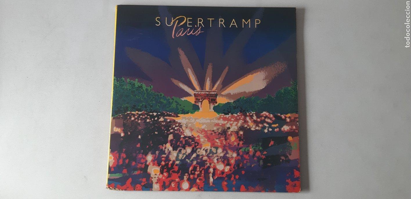 SUPERTRAMP. PARIS. DOBLE LP. AM RECORDS. 1980.AMLM 66702. (Música - Discos - LP Vinilo - Pop - Rock - Extranjero de los 70)