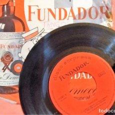 Discos de vinilo: SINGLE DISCO SORPRESA FUNDADOR 10.082 TANGOS - GRAN ORQUESTA DE BAILE, 1965, (VG_VG+). Lote 184931631