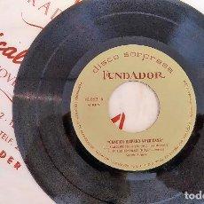 Discos de vinilo: SINGLE DISCO SORPRESA FUNDADOR 10.063 CARMEN NOGUES / CONJUNTO LOS MARIAC, 1964, (VG_VG+). Lote 184932010