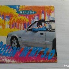 Disques de vinyle: VANILLA ICE - ROLLI IN MY 5.0 SINGLE 1991 EDICION EUROPEA. Lote 184932131