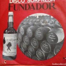 Discos de vinilo: SINGLE DISCO SORPRESA FUNDADOR 10.143 PASODOBLES DE ESPAÑA, 1968, (VG_VG+). Lote 184932262