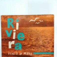 Discos de vinilo: UMBERTO BINDI: RIVIERA / VENTO DI MARE. Lote 184978711
