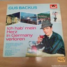 Discos de vinilo: GUS BACKUS. Lote 184979463