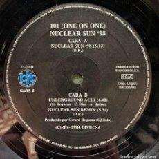 Discos de vinilo: THE LAST VELOCITY FEAT. D.J. KONIK - ALL MIXES (12') (BIT MUSIC). Lote 185006748