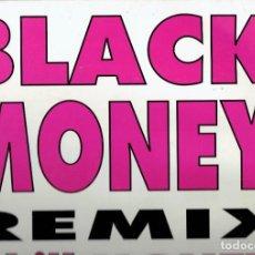 Discos de vinilo: LP VINILO BLACK MONEY REMIX S.G.A.E. 1994. Lote 185007253