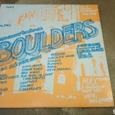 Discos de vinilo: BOULDERS VOL 1. THE 60'S PUNK ÁLBUM. LP VINILO PERFECTO ESTADO. GARAGE. MUY DIFÍCIL. Lote 270214288