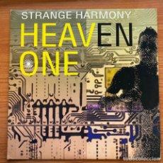 Discos de vinilo: STRANGE HARMONY - HEAVEN ONE (12', MAXI) (MAX MUSIC). Lote 185045750