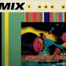 Discos de vinilo: LP,REMIX I SEE YOU GENERAL BASE OTHER SIDE S.G.A.E.1995. Lote 185061135