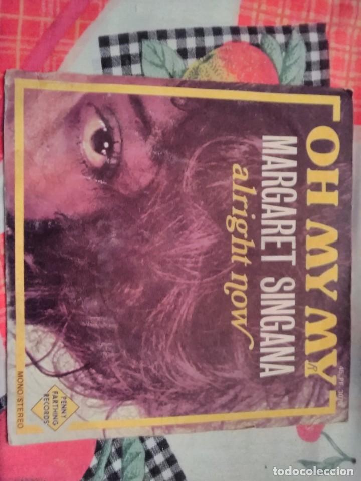 MARGARET SINTAGMA. OH MY MY. EDICIÓN PENNY FARTHING RECORDS. RARO (Música - Discos - Singles Vinilo - Funk, Soul y Black Music)