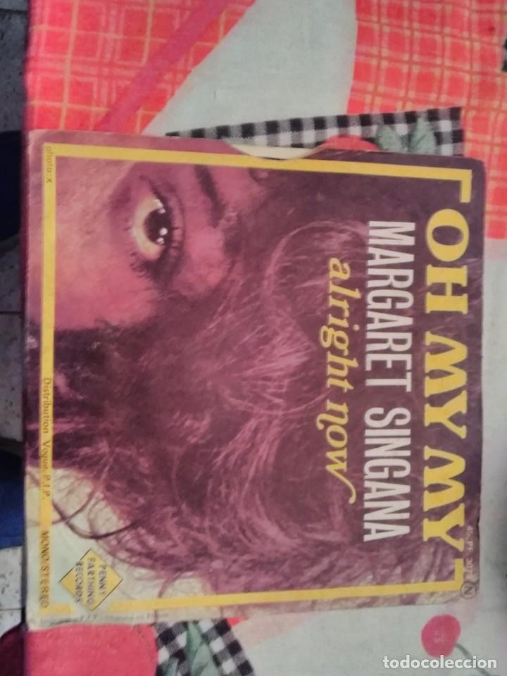 Discos de vinilo: Margaret Sintagma. Oh my my. Edición Penny Farthing Records. Raro - Foto 2 - 185130876