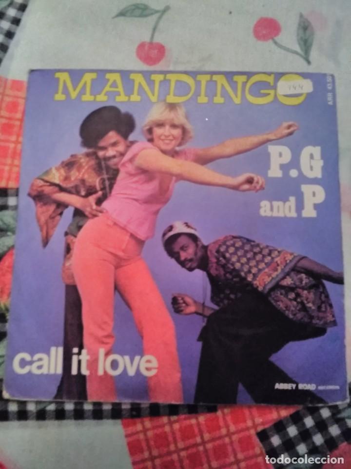 P. G AND P. MANDINGO. EDICIÓN SONOPRESSE FRANCIA. RARA. (Música - Discos - Singles Vinilo - Funk, Soul y Black Music)