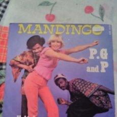 Discos de vinilo: P. G AND P. MANDINGO. EDICIÓN SONOPRESSE FRANCIA. RARA.. Lote 185148707