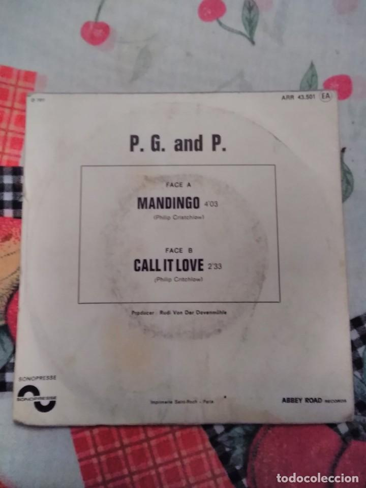 Discos de vinilo: P. G and P. Mandingo. Edición Sonopresse Francia. Rara. - Foto 2 - 185148707