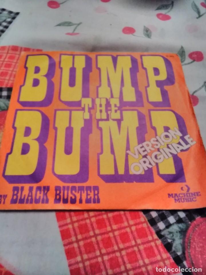 BLACK BUSTER. BUMP THE BUMP. EDICIÓN MACHINE MUSIC DE 1975 FRANCIA. RARO (Música - Discos - Singles Vinilo - Funk, Soul y Black Music)