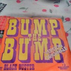 Discos de vinilo: BLACK BUSTER. BUMP THE BUMP. EDICIÓN MACHINE MUSIC DE 1975 FRANCIA. RARO. Lote 185163525