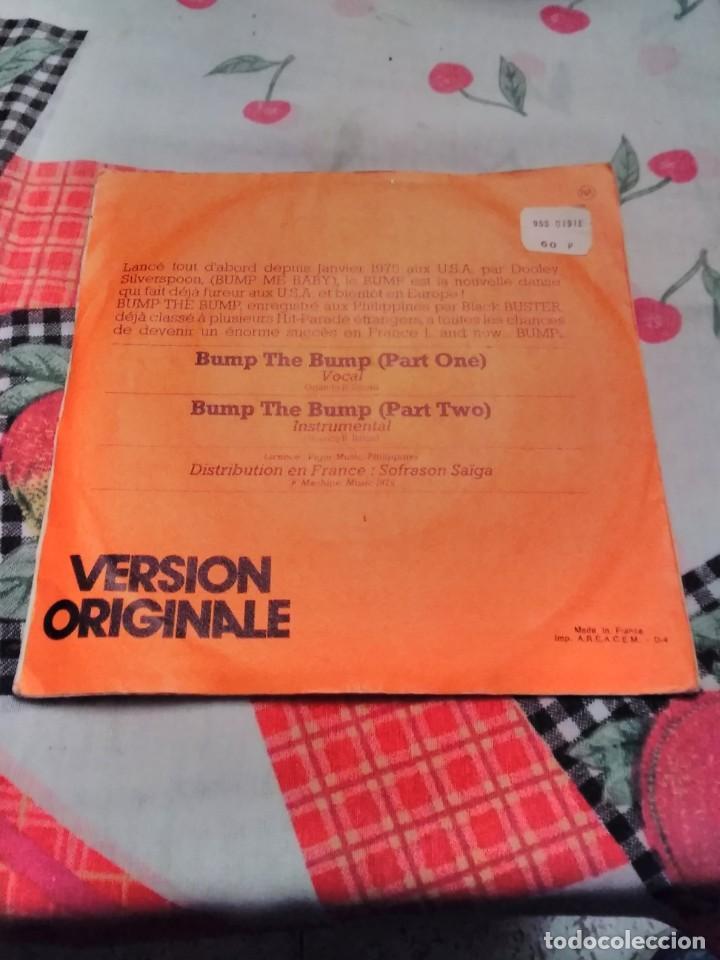 Discos de vinilo: Black Buster. Bump the Bump. Edición Machine Music de 1975 Francia. Raro - Foto 2 - 185163525