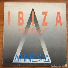 Discos de vinilo: AMNESIA - IBIZA (12') (BOY RECORDS ). Lote 185187992