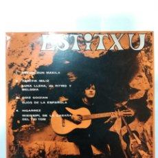 Discos de vinilo: ESTITXU ( 1968): ESKUALDUN MAKILA / TXIKITIK IBILIZ / GOIZ GOIZIAN / NIGARREZ. Lote 185217426