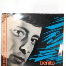 Discos de vinilo: BENITO LERTXUNDI ( 1967): GURE BIDE GALDUAK / BIHAR ITXAROPEN / GAZTE SENTIMENTAL. Lote 185220592