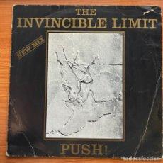Discos de vinilo: THE INVINCIBLE LIMIT - PUSH! (NEW MIX) (12') (ZYX RECORDS). Lote 185239507