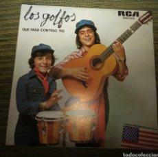 Discos de vinilo: LOS GOLFOS - QUE PASA CONTIGO, TIO. Lote 185275957