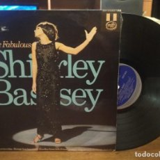 Discos de vinilo: LP. SHIRLEY BASSEY-THE FABULOUS. 1973. MFP PEPETO. Lote 185303338