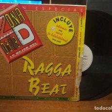 Discos de vinilo: RAGGA BEAT 2 LP ZONA D BAILE MADE IN SPAIN 1983 RECOPILATORIO REGGAE. BEACH MUSIC. Lote 185314286